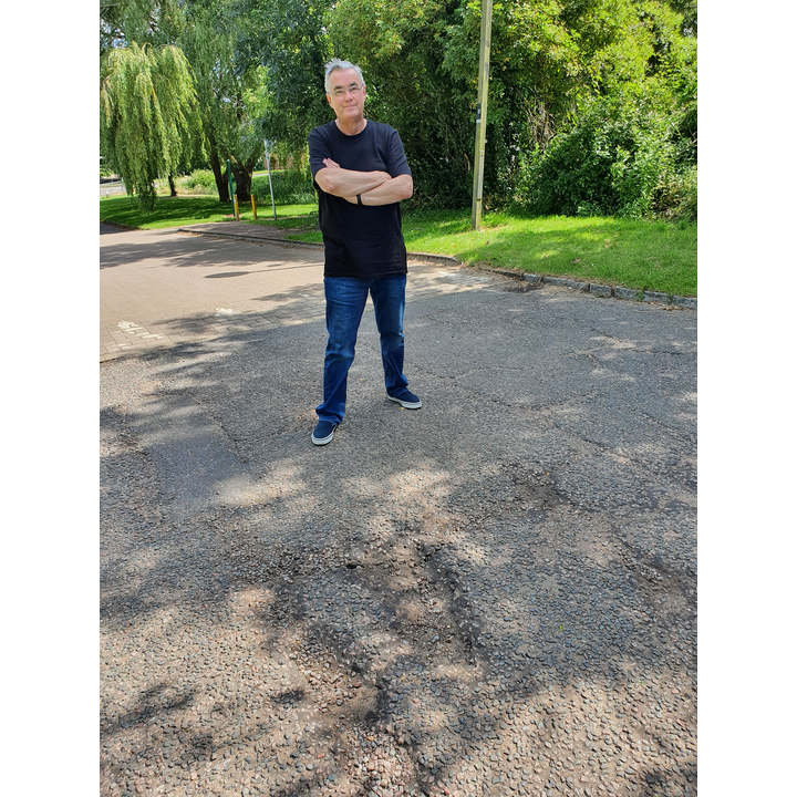 Andy and a pothole in SBE